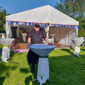 Chef Deiric Walsh Marquee Catering 365 Dublin Catering Company