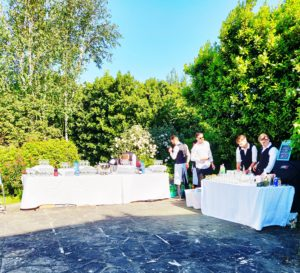 Drinks Station Set UP Catering 365 Dublin Catering Company
